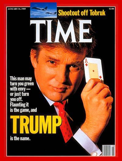 特朗普第29次登时代杂志封面:我的人生是一场豪赌(全文)