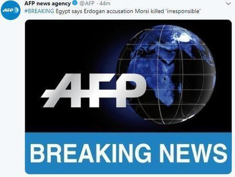 埃及被指杀害前总统穆尔西 埃外长:指控不负责任