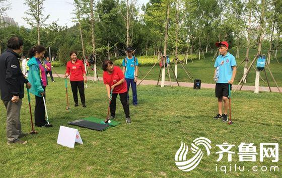 山东省第九届全民健身运动会 第二届场地高尔夫球系列赛(济南站)成功举行