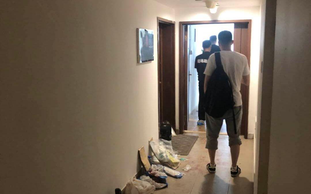 北京SOHO现代城小区男子行凶,现已被警方控制