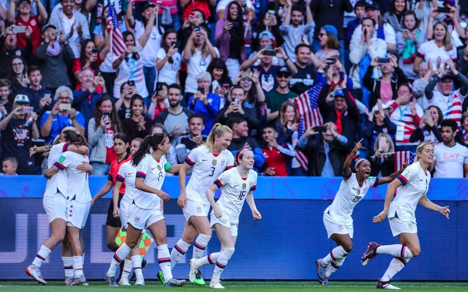 女足世界杯小组赛之最,泰国丢球创纪录送美国上位|世界杯小组赛|泰国