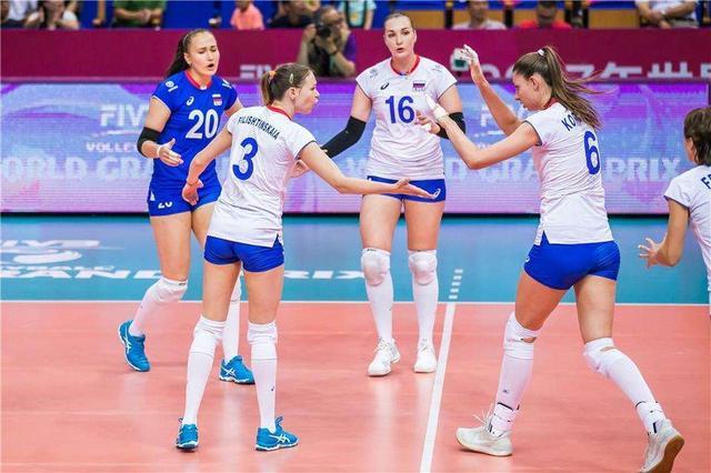 女排世联赛新一期积分榜出炉,中国队跃居第6,一豪门沦落