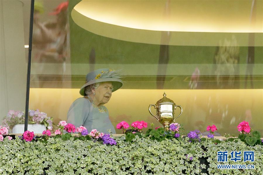 """英国赛马会""""女士日"""":除了马,最多的还有帽子"""