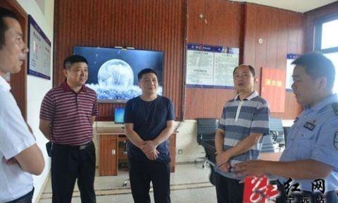 湖南省公安厅领导到宁远县调研指导入境重点工作