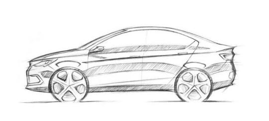 雷丁新车草图曝光 近期将推三款电动车型