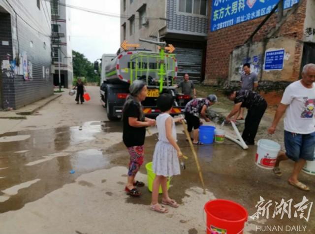 部门|冷水滩区水利局:连夜抢修管道 确保居民供水安全