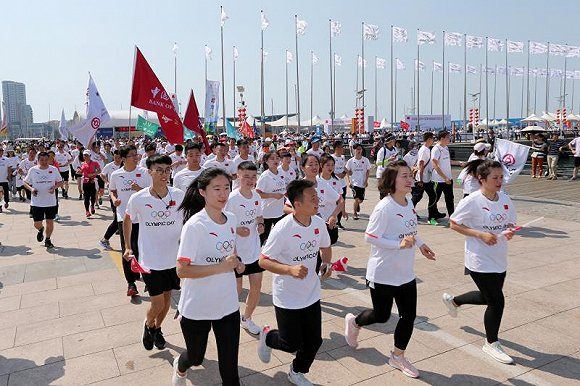 中国银行国际奥林匹克日活动体验升级:扬帆青岛,拥抱冬奥