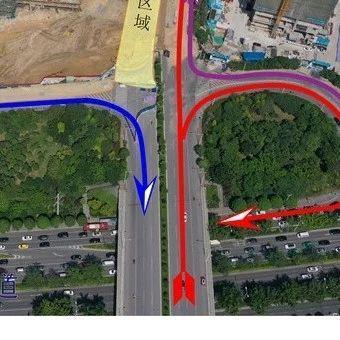 25日起南宁东葛路延长线封闭施工路段恢复单向通行
