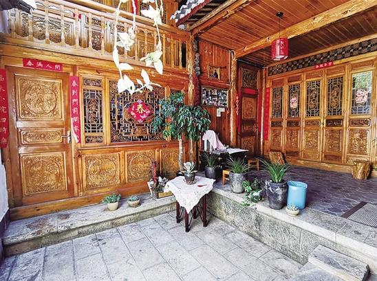 剑川藏着个中国传统村落在弥井读出百年盐业兴衰