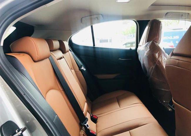 19款雷克萨斯UX260h到店,小众黛青云母配色,贯穿尾灯够劲!