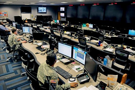 美國非常重視網絡戰力量的建設