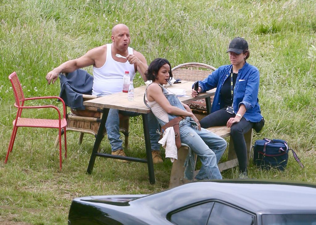 《速度与激情9》路透照!范迪塞尔胖了,强森和杰森斯坦森恐缺席