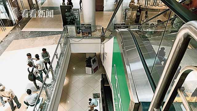 12岁男孩商场骑玩自动扶梯滑落 家人面前惨死 坠亡视频曝光