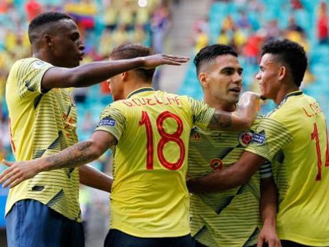 哥伦比亚公平竞赛让梅西安心过生日,还让5球惨败队直接晋级8强