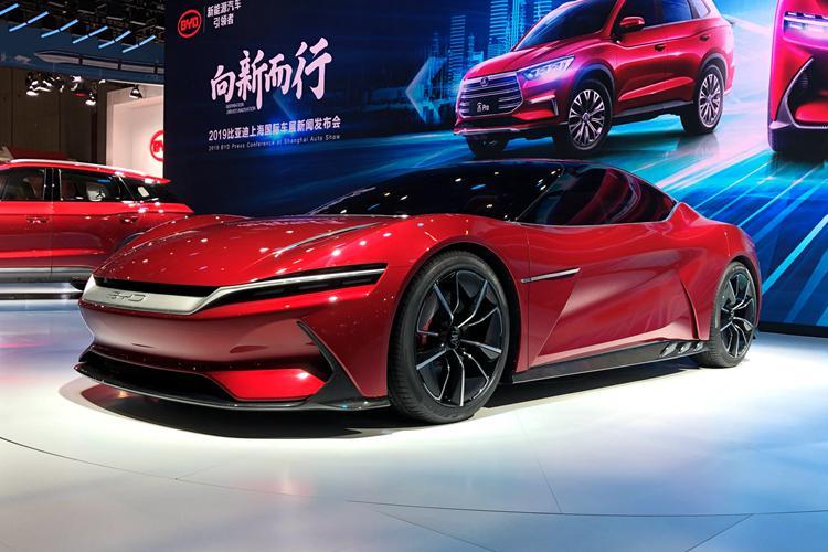 百公里加速2.9秒,仍在研制,E-SEED GT概念车敞篷版造型曝光