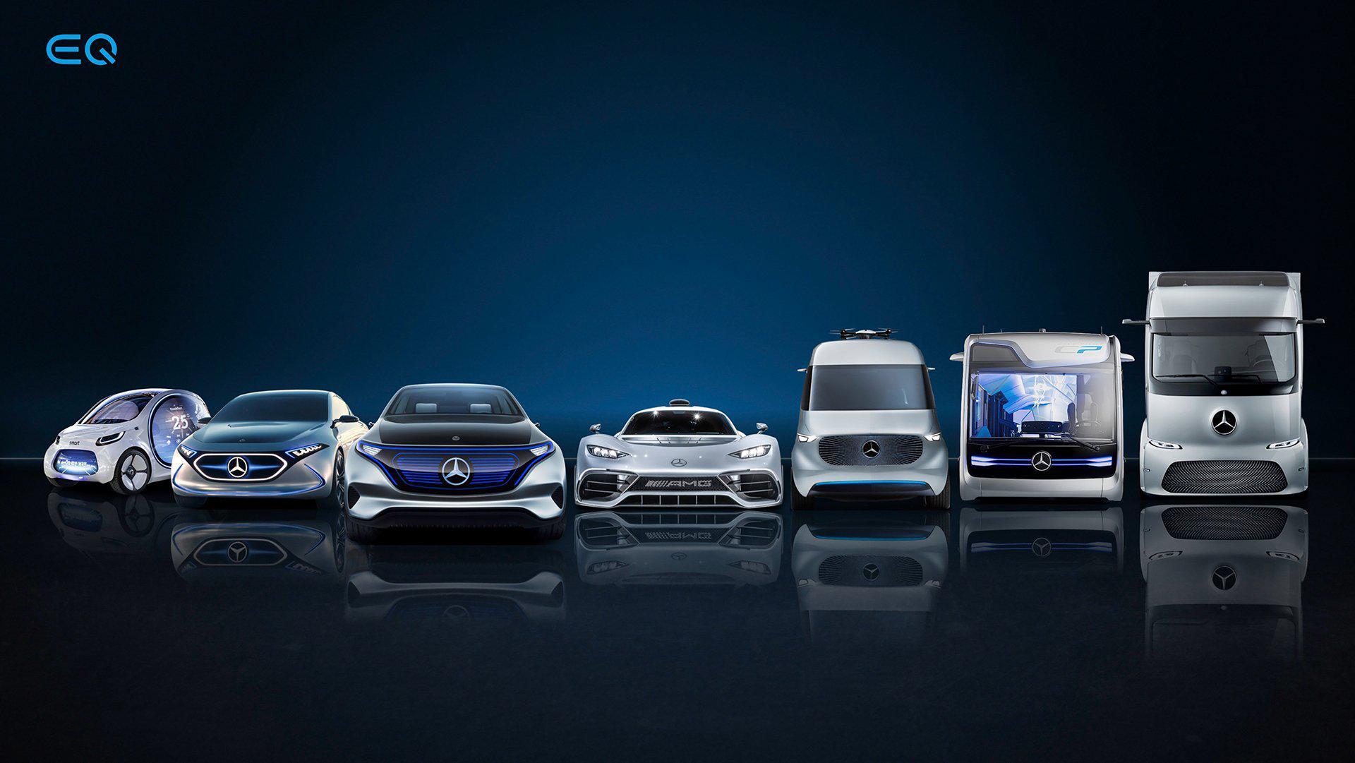 奔驰电动品牌EQ旗下第二款SUV车型EQB将于2021年正式推出