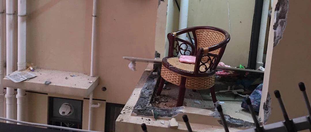 居民楼29楼突发爆炸 疑似住户点煤气自杀导致
