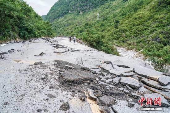广西洪涝灾情致近3万人受灾 直接经济损失超3300万元