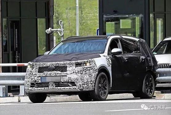 全新一代索兰托重度伪装谍照曝光,高性价比七座SUV新选择