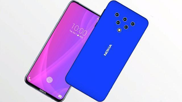 诺基亚5G手机:孔全面屏设计,搭载骁龙855处理器
