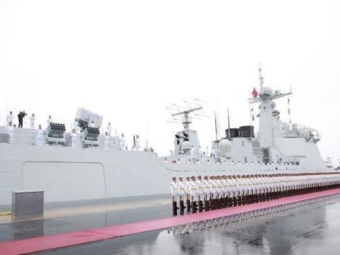 江南造船厂传来捷报,055大驱2号舰或开启海试