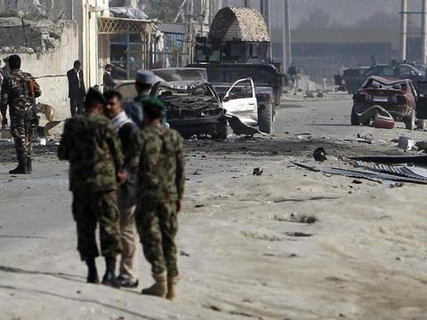 阿富汗内政部发布的消息,美国国际开发署的办公大楼遭到炸弹袭击