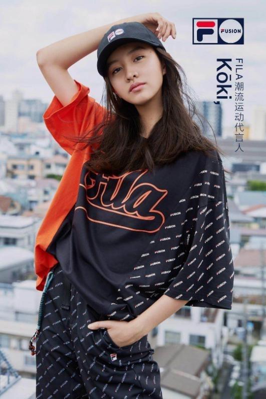 FILA FUSION宣布潮流运动代言人Kōki