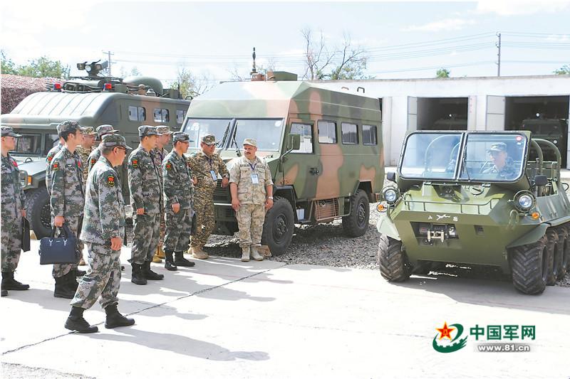 中哈吉俄塔共同组织年度边境裁军履约核查