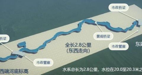 四个片区,八大景点!北京环球主题公园度假区景观水系工程获批