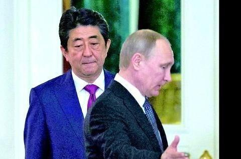 """G20见安倍前,普京又""""甩脸子"""",对争议岛屿这样表态"""
