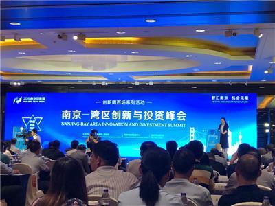 """鼓楼区举办""""2019南京-湾区创新与投资峰会"""""""