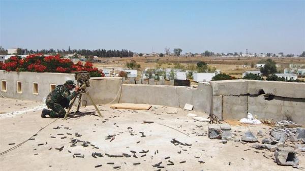 """利比亚战局:民族团结政府攻陷"""""""