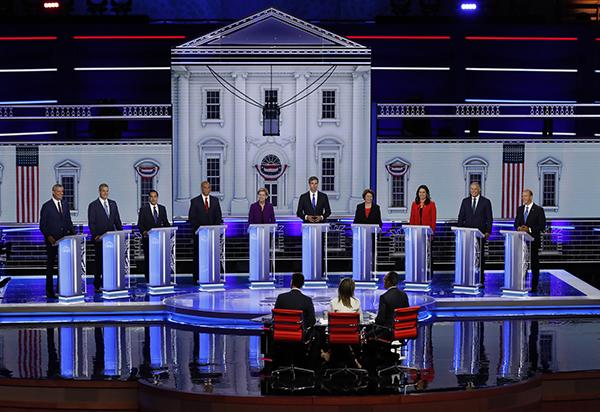 美国2020年大选民主党初选鸣哨,特朗普将在飞机上看直播
