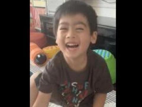 林志颖变身超级奶爸,晒视频教儿子学英语Kyson聪明可爱