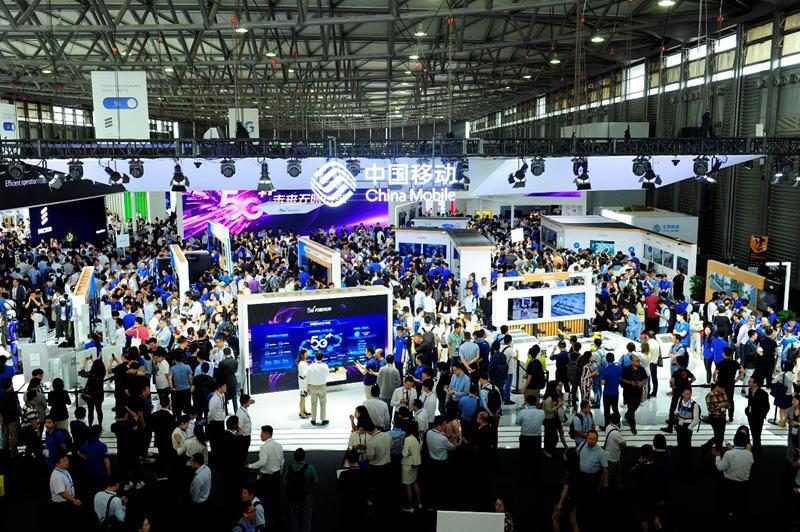 """中国移动全景展示""""5G 新型智慧城市"""""""