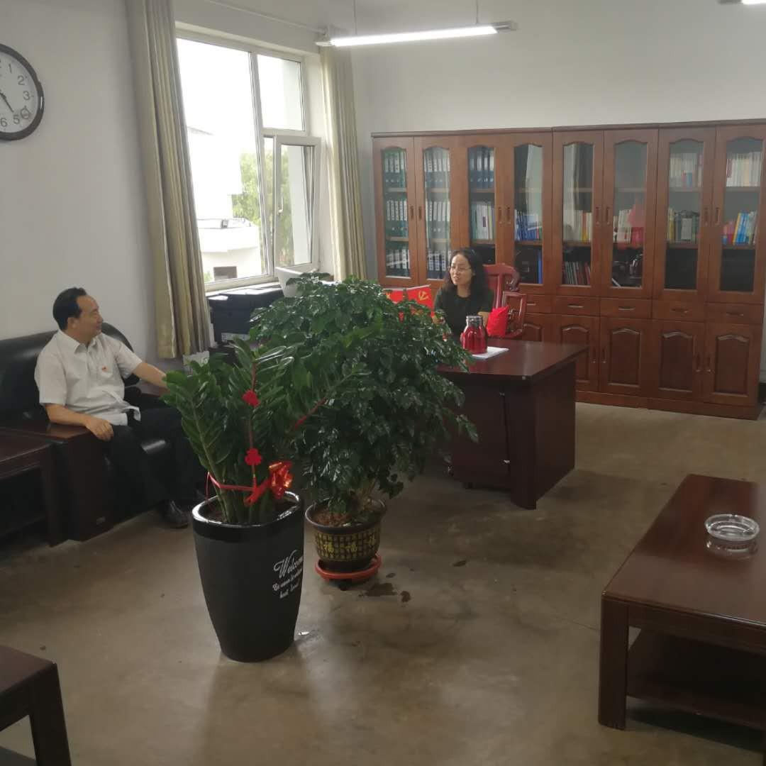 人保财险山西省分公司副总经理张小平与潞安集团公司领导探讨推进党建共建合作