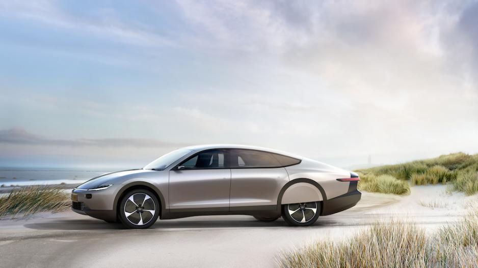 综合续航达724公里 一款由荷兰初创公司打造的太阳能电动车
