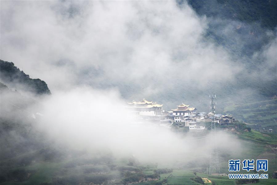 雾中仙境——扎尕那
