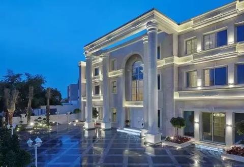 藏在卡塔尔多哈的珍珠别墅
