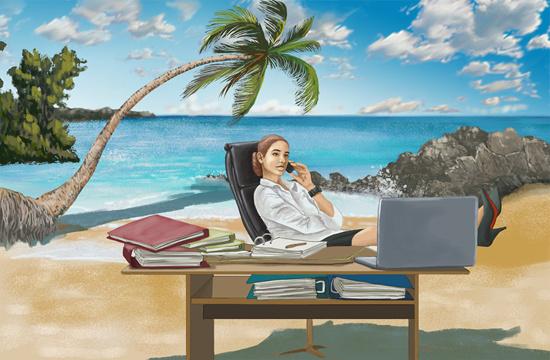 谁愿意休息时还工作?心理学证明加班还真会上