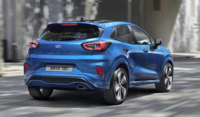 福特全新小型SUV,颜值呆萌造型跨界,配全液晶仪表用1.0T
