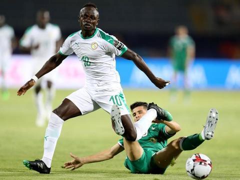 迪亚涅失空门,非洲杯塞内加尔0-1不敌阿尔及利亚