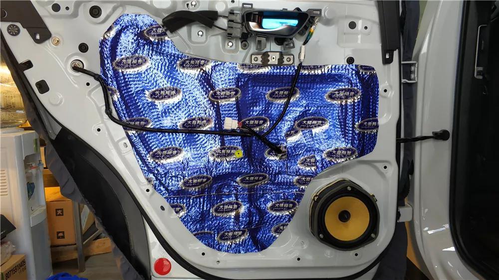 冠道怎么解决风噪、提高音响品质?大能四门隔音定制版你值得拥有
