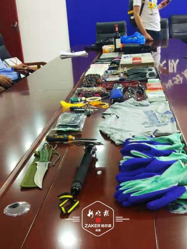盗窃40余台车 在哈市信恒现代城等小区附近砸车的抓到了