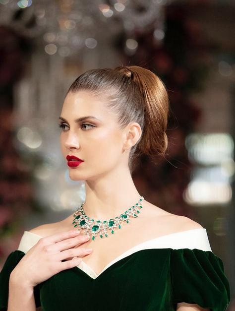 旅英杰出华人珠宝设计师徐寒联合摩邦世家高级珠宝秀震撼英伦