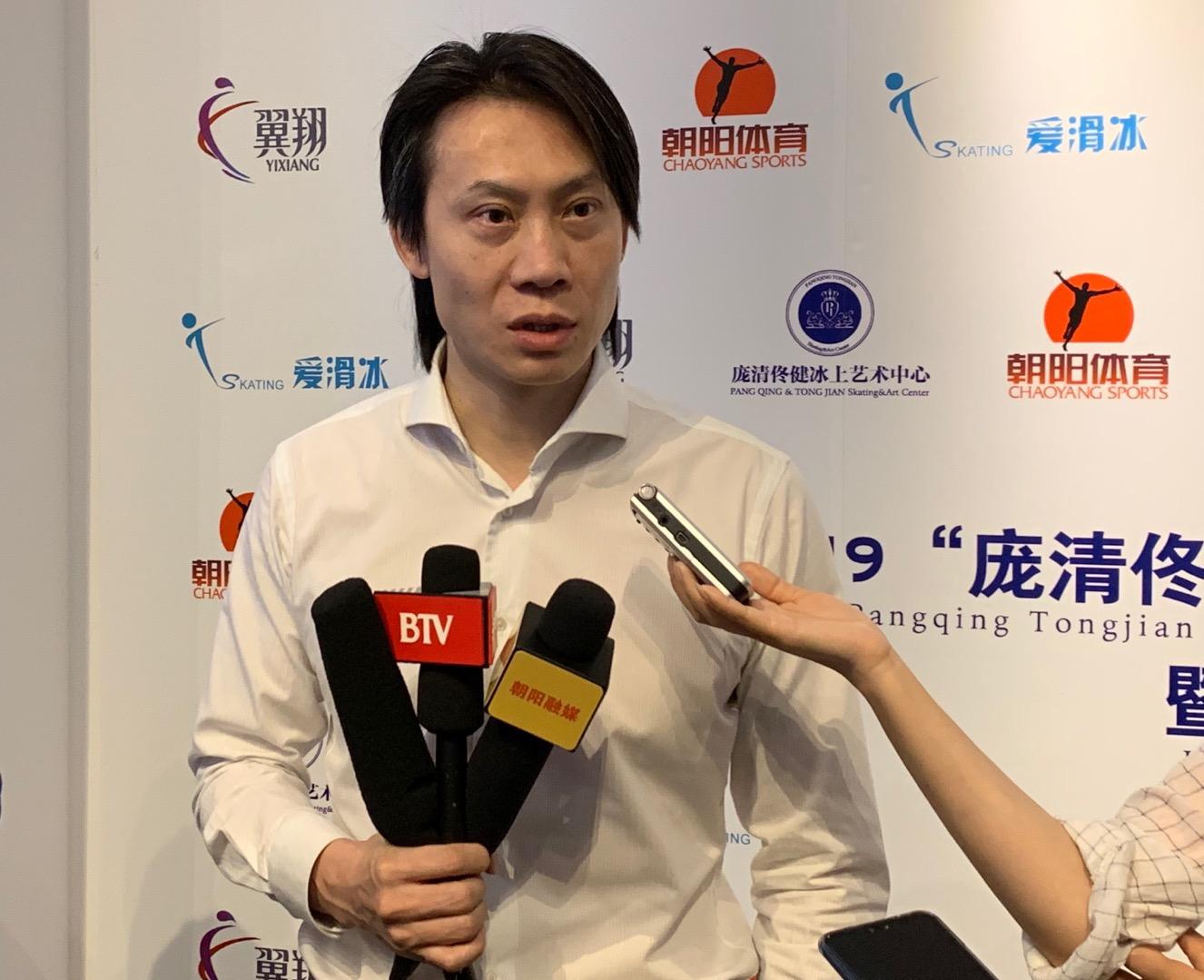 闫涵将在下月复出,佟健不想给他太大压力