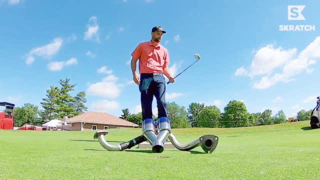 花式大神+女子长打王,玩转花式高尔夫