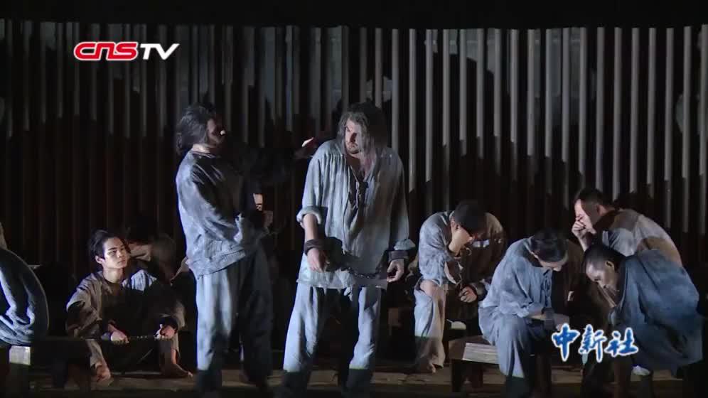 """中外艺术家演绎原创歌剧 """"马可·波罗""""重回""""光明之城"""""""