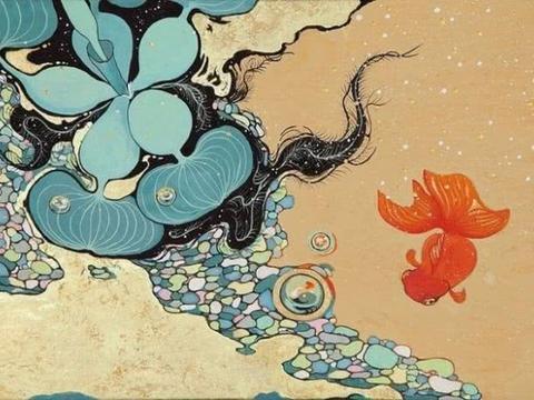 日本画师 菅直人薰笔下独具特色的传统艺术风格