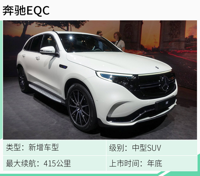 奔驰EQC领衔 下半年新能源上市新车抢先看!